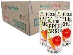 りんごとにんじんのミックスジュース (195g×30本)アップル&キャロットジュース