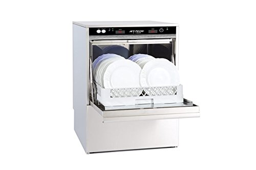 Jet-Tech Systems F-18DP Stainless Steel 304 Undercounter High Temperature Dishwasher