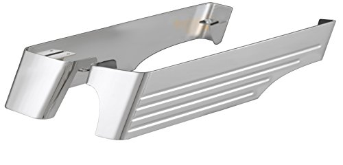 Smiths Saddle - Cycle Smiths Chrome Billet Saddlebag Extensions with Cut-Outs for Right Exhausts 201-14