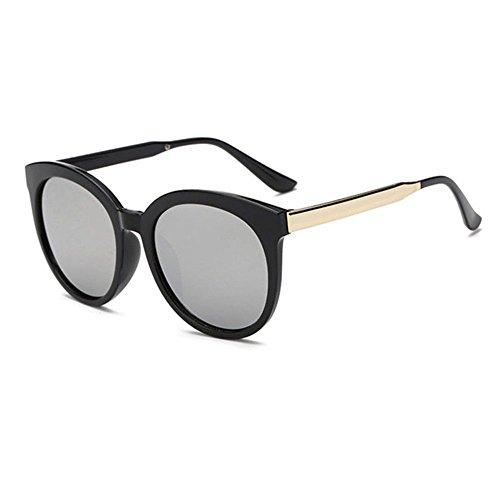 Aoligei Metal lunettes de soleil hommes Europe et aux États-Unis de mode lunettes de soleil tendance couleur lumineuse sRdlu