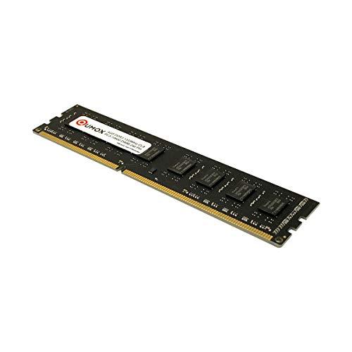 QUMOX Memoria Dimm 4GB DDR3 1333 1333MHz PC3-10600 PC-10600 (240 Pines) para computadora Escritorio PC