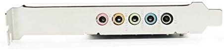 PCI Express PCI-E 5.1ch 6channels CMI8738 Audio Sound Card D5257A Fshow windows7//8