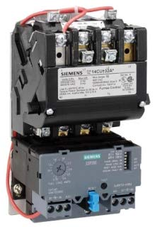 Siemens 14FUF32AA 3 Pole Non-Reversing Combination Full Voltage Motor Starter NEMA 2 600 Volt AC Maximum 13 - 52 Amp ()