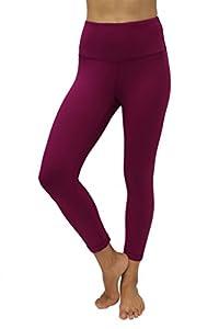 90 Degree By Reflex – High Waist Tummy Control Shapewear – Power Flex Capri-Magenta Haze-S
