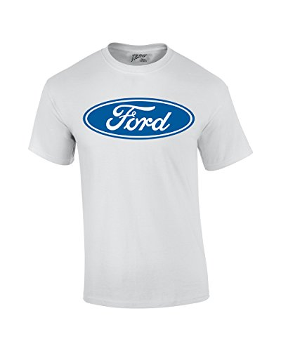 Ford T-Shirt Blue Ford Logo Oval (Ford Logo T-shirts)