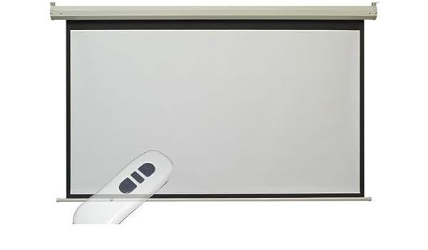 Sta Trading - Pantalla motorizada para proyector, 4:3, 270 x 220 ...