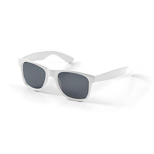 Kids Wayfarer Sunglasses Vintage Retro Classic Girls Boys Aviator Uv400 (White)