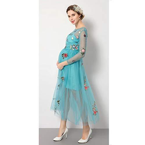 Nt Vestido De Embarazo Fotografía De Mujer Vestido De