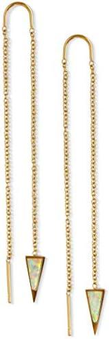 Threader Earrings - Gold Earrings for Women Chain Earrings Hanging Earrings Double Piercing Earrings Earrings