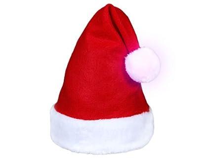 Alsino Bonnet de Père mère Noël (wm,114) Pompon lumineux qui change de