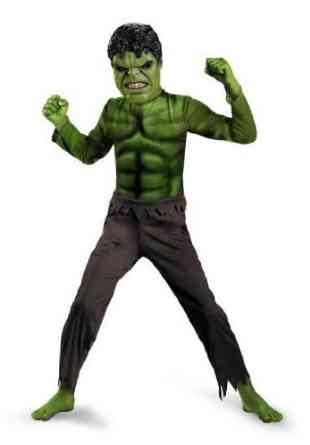 Hulk Avengers Basic Child Costume Small (4-6X) (Hulk Costumes For Kids)