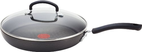 T-fal E91898 Ultimate Hard Anodized Scratch Resistant Titanium Nonstick Thermo-Spot Heat Indicator...