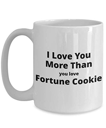 (Funny Coffee Mug for Fortune Cookie Lovers. Great Unique Valentine's Gift for Him or)