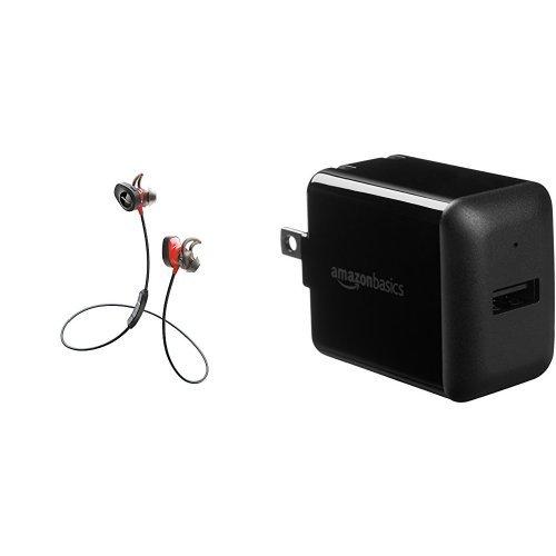 Bose SoundSport Pulse Wireless Headphones, Power Red  + Amaz