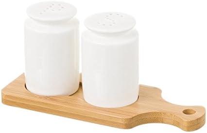D,casa - Salero de Mesa de Porcelana Blanco nórdico para Comedor ...