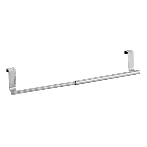 InterDesign Forma Over-the-Cabinet Expandable Kitchen Dish Towel Bar Holder - Brushed Stainless Steel 30%OFF