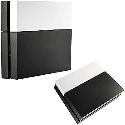 eXtremeRate Funda Externa Carcasa Exterior Cubierta reemplazable Tapa Intercambiable Mate para la Consola del Playstation 4 PS4 Original Blanco: Amazon.es: Electrónica