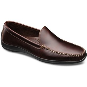 Allen-Edmonds Men's El Paso,Brown Chromexcel Leather,US 7.5 3E - Allen Edmonds Leather Moccasins