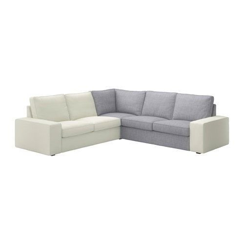 IKEA Kivik Corner Section Sofa Slipcover Cover ISUNDA GRAY 802.928.15