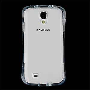 PEACH ships in 48 hours Protective Soft TPU Back Cover Case for Samsung Galaxy S4/I9500 - Transparent