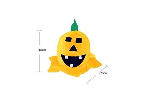 ATTOUPAN Halloween disegni Cappello a punta di zucca Cappello a punta di  strega per Halloween Accessorio 96aaa2e215af