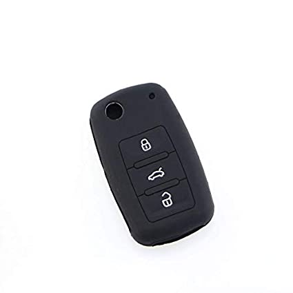 76f091b798fe Image Unavailable. Image not available for. Color  Jameo Auto Car Key Bag  Case Cover for Volkswagen VW Polo Passat B5 Golf 4 5