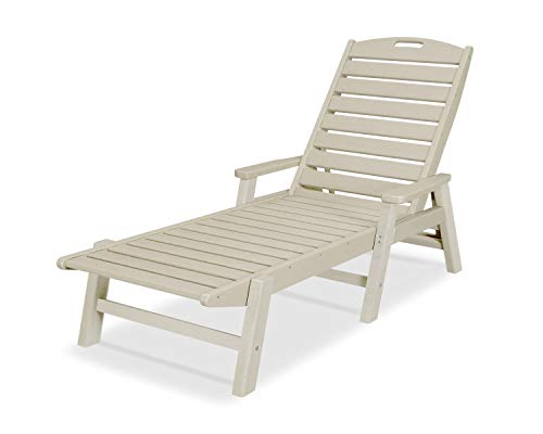 autical Arms Chaise, Sand ()