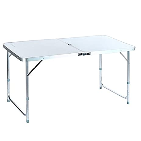 Gentil 4ft Camping Folding Table With Carrying Handle Small Table Portable  Outdoors Furniture Ship From USA