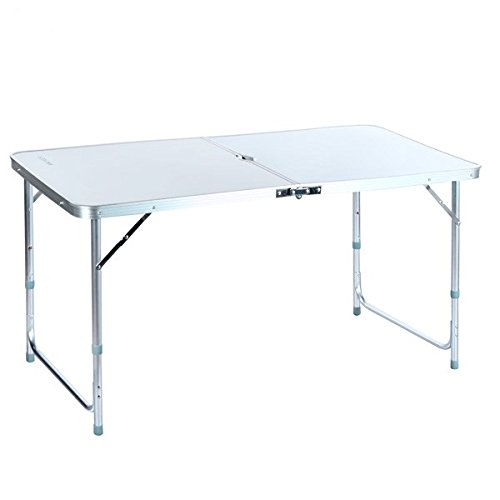 4ft Camping Folding Table with Carrying Handle Small Table Portable Outdoors Furniture Ship from USA (Indoor Outdoor Furniture Lowes)