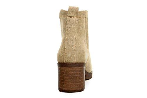 stivali stivali High scarpe CAMEL con in britannico 120W femminile 160cm maggiore stile tacco e inverno 90 Martin camel Autunno retrò pelle 6I7OqO