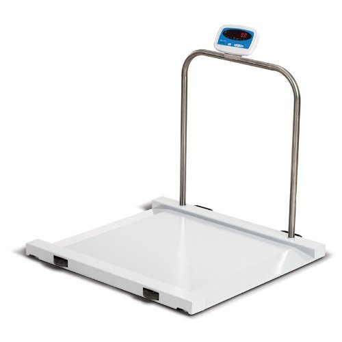 1000 LB x 0.5 LB Salter Brecknell MS-1000 Bariatric Handrail Medical Health Scale by Salter Brecknell