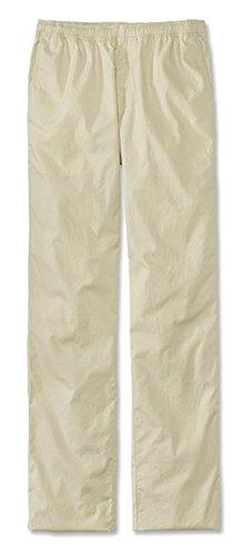 Orvis Men's Bush Poplin Drawstring Pants, Stone, Cuffed, 38W X 28L Mens Bush Poplin