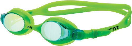 TYR Swimple Youth Metallized Goggle (Electric (Electric Goggle)