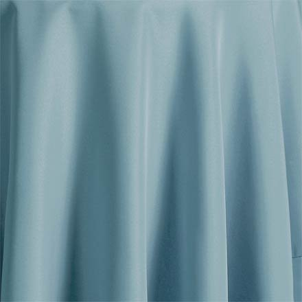 Bright Settings Fabric Sample - Flame Retardant Basic Polyester Solid Colors-Sky Blue