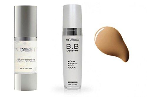 Mica Beauty Skin Care Duo: Vita-C Exfoliating Peeling Gel Ma