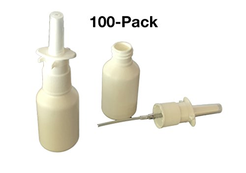 CLEARANCE PRICED Pharma-quality Nasal Pump Sprayers, 30ml, Empty, Unassembled, No Label, Bulk Discount 100-pack - FREE - Discount Speedy Metals
