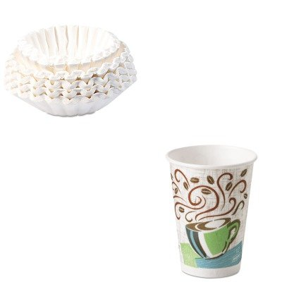 KITBUN1M5002DXE5342DX - Value Kit - Dixie Hot Cups (DXE5342DX) and Bunn Coffee Commercial Coffee Filters (BUN1M5002)