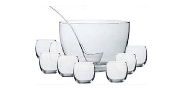 Clear Libbey 56198 10 Piece Punch Bowl