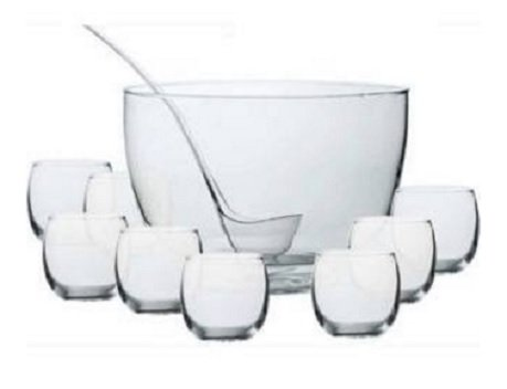 10 Piece Punch - libbey Intent 10-Piece Punch Bowl Set Dailyware