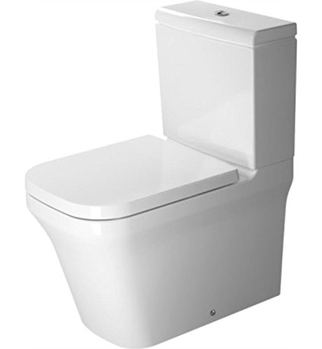 Duravit 2167090092 - Toilet CC 650mm P3 Comforts white washdown, vario outlet, USA (Washdown Faucet)