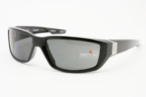 Spy Optic Dirty Mo Polarized Signature Black Sunglasses - Mo Polarized Dirty Sunglasses