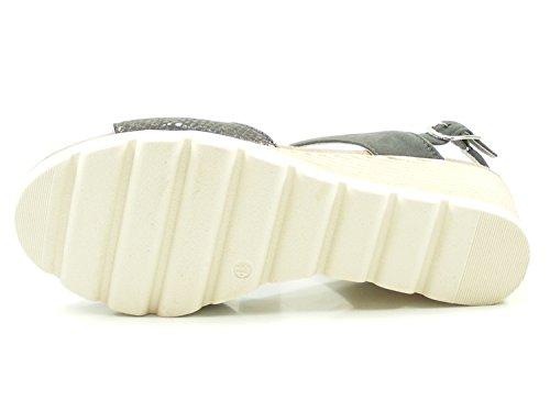 28701 Gris Para Mujer Sandalias 9 20 Caprice Rw1xq40w