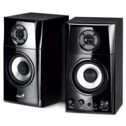 Genius SP-HF 1201A - Altavoces (254 mm, 30 W, 75 Db, Alámbrico, 3,5 mm, 4.18 kg) Negro