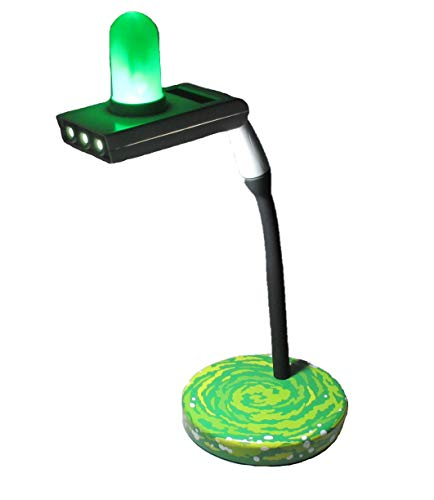 Rabbit Tanaka Rick & Morty Portal Gun LED Lamp for sale  Delivered anywhere in USA