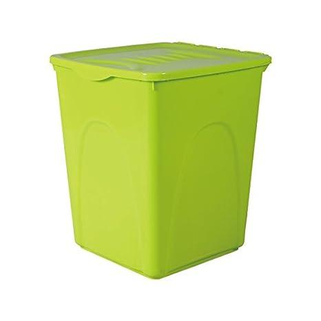 Contenedor de comida para perros o gatos Nobleza, de color verde, capacidad 44 litros: Amazon.es: Hogar