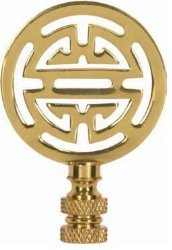 Satco Oriental Brass Finial model number 90-1747-SAT by Satco (Image #1)