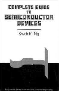 Semiconductor Devices And Circuits Ebook