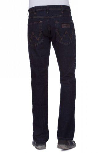 rinsewash Nuovo Stretch Texas Nero Uomo 023 Jeans Wrangler nq8TWBB