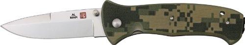 (Al Mar Knives S2KDC SERE 2000 Linerlock Knife with Textured Digital Camo G-10)