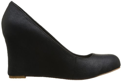 buy cheap pictures in China Feud Britannia Women's Marissa Wedges Heels Black Vintage YCqyfS
